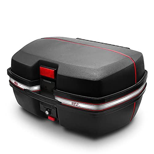 HDGFYTOR Maletero de Scooter Baúl de Moto para2Casco Integral y 1 Cerradura con 2 Llaves Accesorios