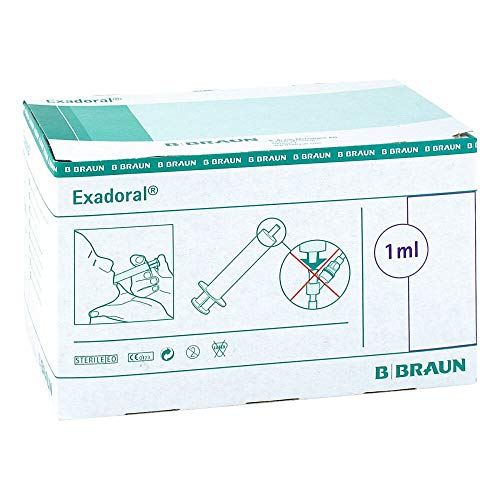 EXADORAL B.Braun orale Spritze 1 ml 100 St