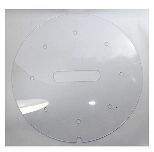 budawi® - Plexiglas Einlagen Ø 36 cm für Zimmerbrunnenschalen, Einlagen für Zimmerbrunnenschalen zubehör