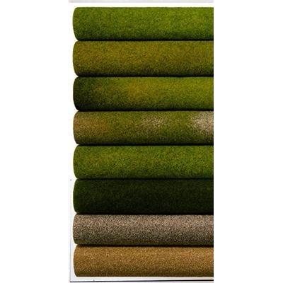 NOCH-00280 Tapiz de hierba, verano, 120 x 60 cm, color verde (00280)