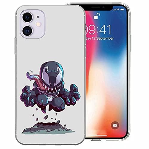 Funda Compatible con iPhone 6 Plus/iPhone 6s Plus, diseño de patrón en la Parte Posterior Crystal Clear Ultra Slim Soft TPU Silicona a Prueba de Golpes, Anti-arañazos (5.5 Pulgadas) (XXITT2200011)