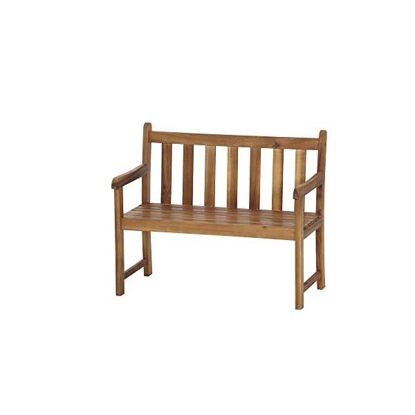 Siena Garden Kinderbank Finn, 39,5x72x60,5cm, Akazienholz, geölt in natur, FSC 100%