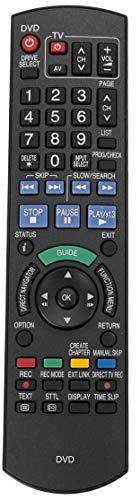 ALLIMITY N2QAYB000234 Fernbedienung Ersetzt für Panasonic DVD Recorder DMR-EX71 DMR-EX71S DMR-EX71SEGS DMR-EX71SEGK DMR-EX81 DMR-EX768 DMR-EX81SEGS DMR-EX81SEGK