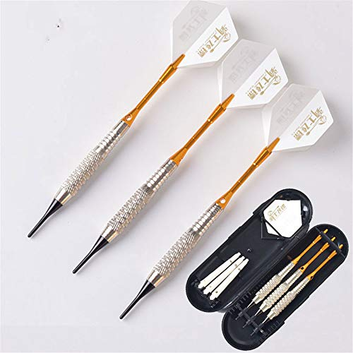 Buy Bargain hfeng Soft Darts Set 3pcs Aluminum Shaft Soft Tip 16g Needle Throwing for Professional S...