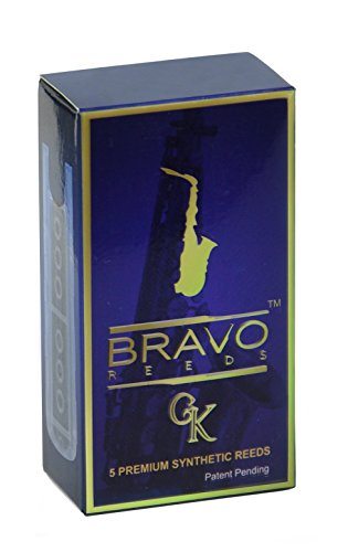 Bravo Synthetic Reeds for Alto Saxophone - Strength 3.0, Model BR-AS30