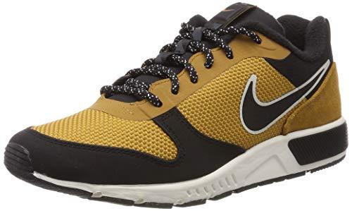 Nike Herren Trailschuh Nightgazer Trail Fitnessschuhe, Mehrfarbig (Wheat/Black/Sail 700), 40 EU