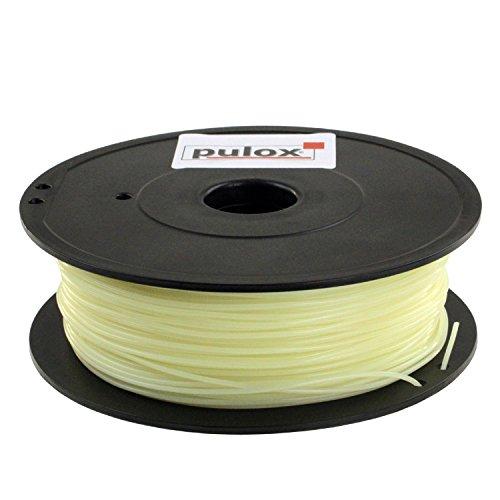 Pulox PVA Wasserlösliches Filament für 3D-Drucker 0,5kg 1,75mm Supportmaterial Stützmaterial