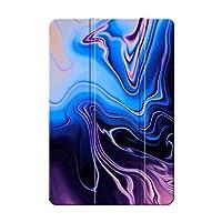 Sepikey iPad Pro 12.9 2017 2015/iPad Pro タブレットケース,全面保護型 耐久性 指紋防止 高級PU 三つ折りブラケット 三つ折タイプ 保護ケース iPad Pro 12.9 2017 2015/iPad Pro Case-マーブル15