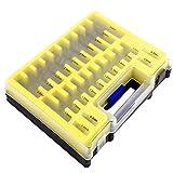 Busirde 150PCS / Set Mini Fresa Espiral bit Set HSS Herramientas Eléctricas Taladro 0.4-3.2mm Miniatura Agujero Abridor bit Puesto Herramientas de la carpintería