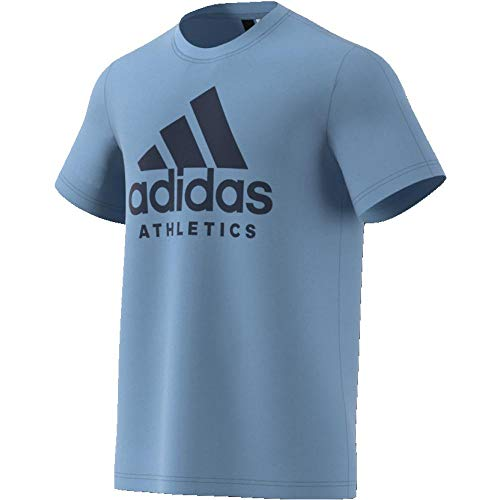 adidas Sport ID T-Shirt Homme, Ashblu, FR : L (Taille Fabricant : L)