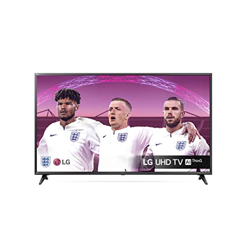 LG 65UM7050PLA 65 inch UHD 4K HDR Smart LED TV with Freeview Play - Ceramic Black Colour (2020 Model) [Energy Class A]