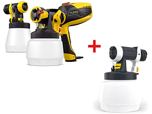 WAGNER Bundle Farbsprühgerät Universal Sprayer W 590 Flexio inkl. Wall Extra Texture Sprühaufsatz