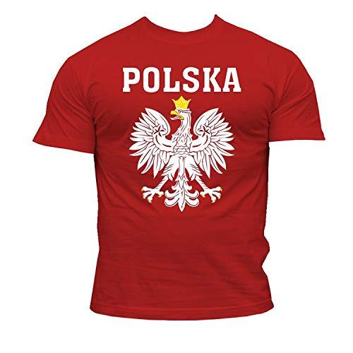 Quaint Point Polska Polen Trikot Herren T-Shirt KP6 (L)