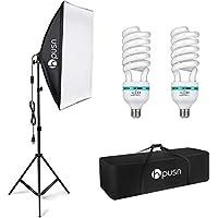 HPUSN Softbox Lighting Kit Photography Studio Light with 20