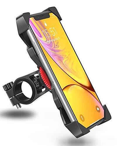 WANG Motorfiets-telefoonhouder fiets-telefoonhouder universeel instelbaar fiets-motor-telefoonhouder fietsklem mountainbike