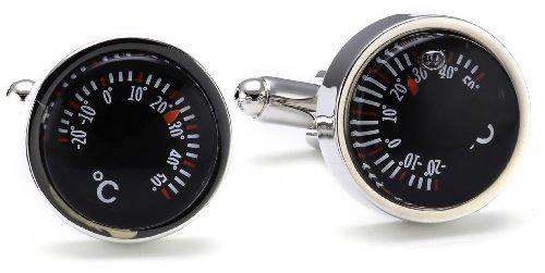 Preisvergleich Produktbild Teroon Unisex-Manschettenknöpfe Thermometer 610788