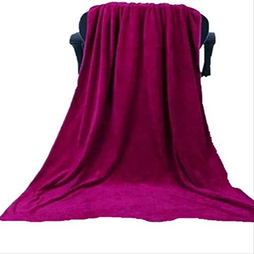 Toalla de baño Toalla de salón de belleza Cama suave absorbente sudor corporal vapor hogar 35x75 (espesamiento) amarillo claro
