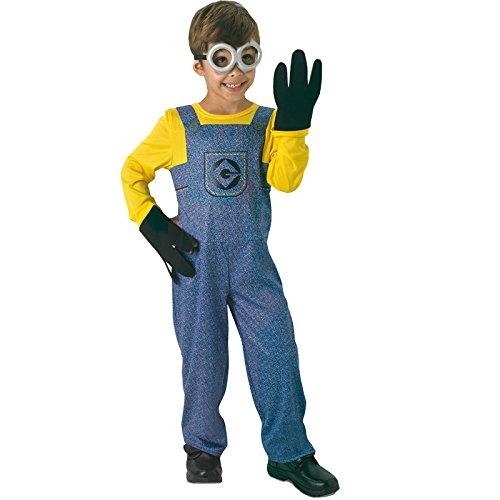 Rubie's-déguisement officiel - Minion- Costume Classique Enfant Minion - Taille 5-6 ans- CS810490/M