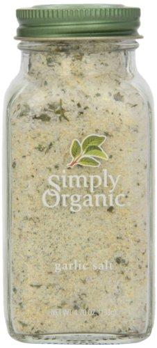 Simply Organic, Garlic Salt Organic, 4.7 Ounce