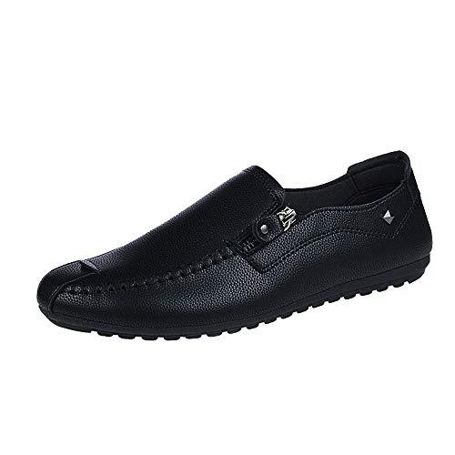Zapatos Planos Hombre ZARLLE Zapatos Casuales De Negocios Hechos A Mano Mocasines De ConduccióN De Zapatos Hombres