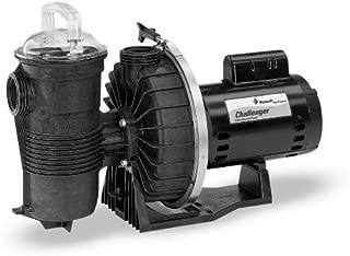 Pentair 345205 Stainless Steel Challenger High-Pressure Energy-Efficient Single-Speed Full-Rated Pump, 1-Horsepower
