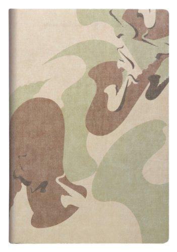 Daycraft N75-242-00 - Camo Concert notitieboek, saxofoon zeefgedrukte coverillustraties, make-up My Day, dogtag