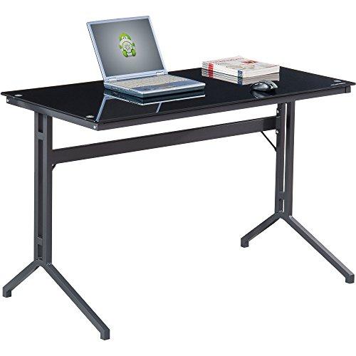 Piranha Kompakter Schreibtisch mit Glasplatte PC 17g