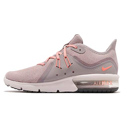 Nike Womens Air Max Sequent 3 Casual Sneakers, Grey, 6