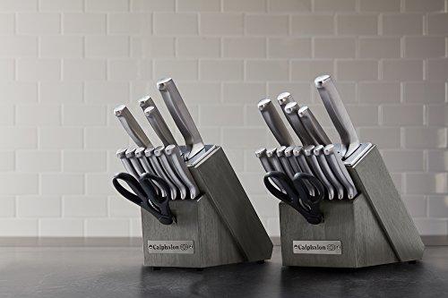 Calphalon Classic Self-Sharpening Stainless Steel 15-piece Knife Block Set