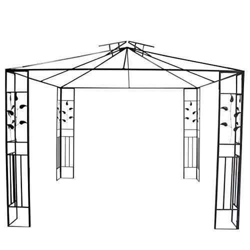 greemotion Pavillon-Gestell Livorno, Pavillon-Stahlgestell, 300 x 280 x 300 cm