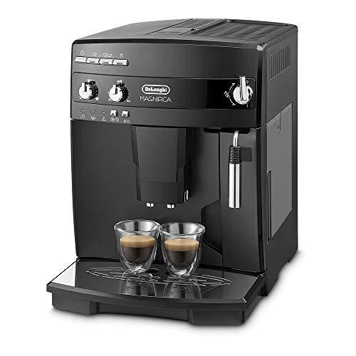 【エントリーモデル】デロンギ(DeLonghi)全自動コーヒーメーカーミルク泡立て手動ブラックマグニフィカESAM03110B