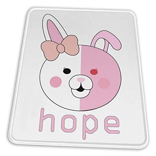 Monomi Inspired Hope Logo Hemming The Esports Mouse Pad Accesorios de oficina Decoración de escritorio Alfombrilla de ratón de goma antideslizante