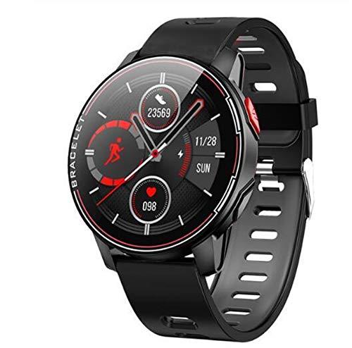 GZA New Smart Watch IP68 Impermeabile Sport Bluetooth Bluetooth SmartWatch per Oukitel C18 PRO C19 WP5 PRO C10 PRO C12 C13 PRO K3 PRO C12 C13 PRO K3 PRO C12 C13 PRO K3 PRO C12 C13 PRO (Color : Black)