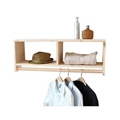XLYYHZ Ganchos de madera maciza para estante de entrada, para colgar en la pared, para sala de estar, dormitorio, pasillo, oficina 1HUIYANG-01020
