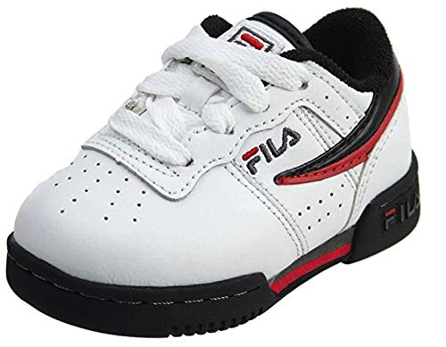 Fila Disrupter II I Boys' Infant-Toddler Sneaker 8 M US Toddler Red-White-Black