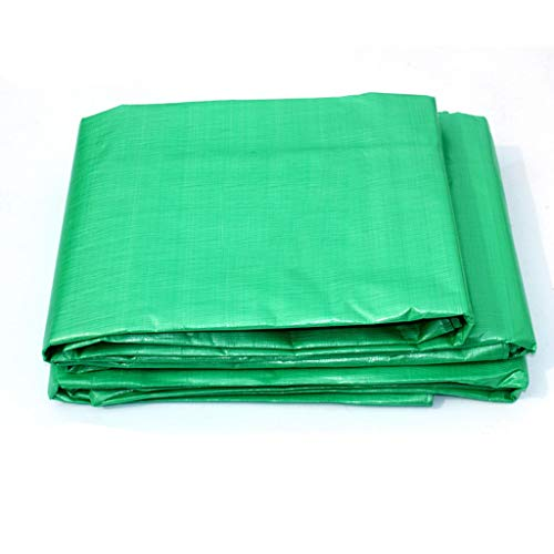 Yxsd dikker regendicht dekzeil plastic doek luifel zonnescherm doek auto dekzeil kleur strip doek 5x7M