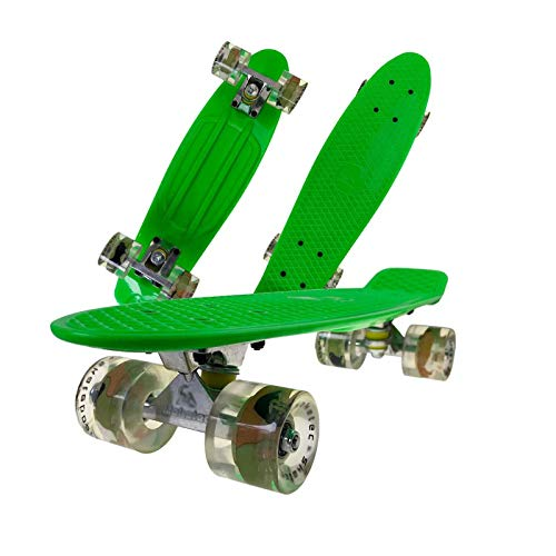 MNBV 22 Inch Skateboard Is Suitable For Beginners And Teenagers, Street Outdoor Sports Skateboards For Kids - Printing Wheel