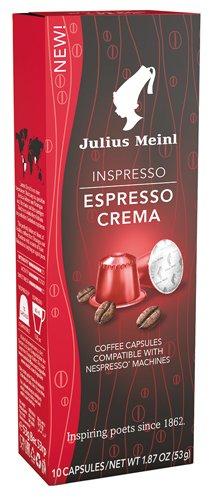 10x Julius Meinl - Inspresso Espresso Crema 8-53g