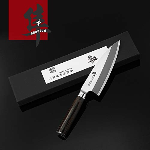 Best Quality Kitchen Knives Japanese Deba Fish head knife Salmon knife Sashimi Sushi Cooking knife Germany imports 1.4116 steel