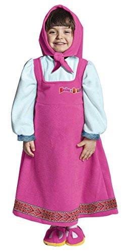 joker JC053-000 - Costume Masha e Orso XS, Multicolore