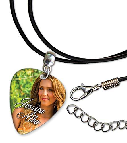 Jessica Alba Gitarre Plektrum Plectrum Chain, Halskette AUS