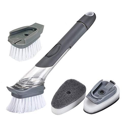 Contiup 4 paquetes de cabezales de cepillo reemplazables Piezas de