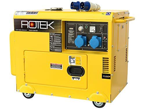 Rotek Diesel Stromerzeuger GD4SS-1A-6000-5EBZ (5,5 kVA / 230V 50Hz 1-phasig)