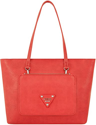 Guess Borsa A Mano Audrey 2 In 1 Tote Rosso