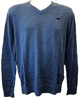 3dfa96ce41 Hollister - Pull - Homme Bleu Bleu M