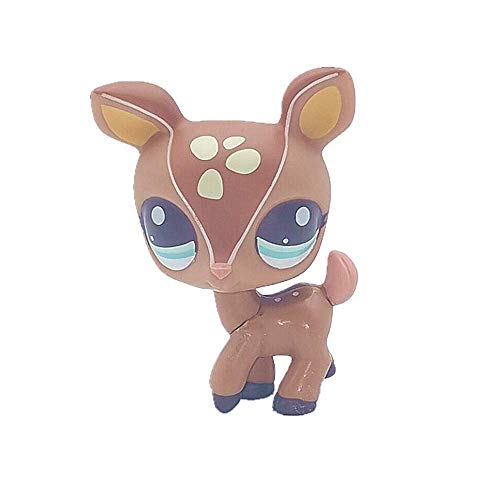 N/N Littlest Pet Shop, LPS Toy Cute Big Eye Pet Deer Collection Child Girl Boy Figure Toy