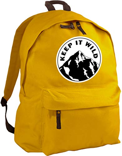 HippoWarehouse Keep it wild backpack ruck sack Dimensions: 31 x 42 x 21 cm Capacity: 18 litres