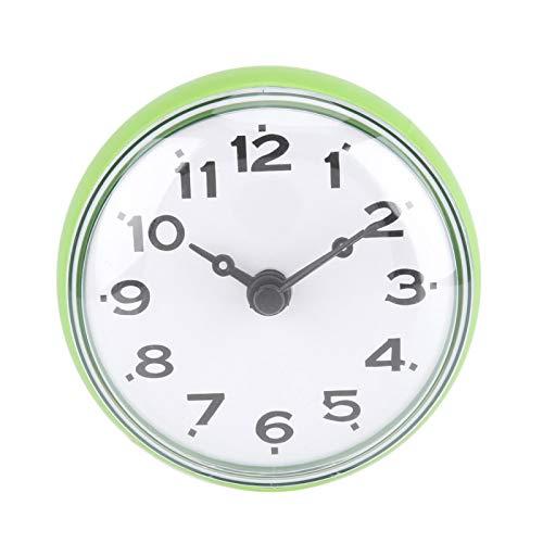 HERCHR Reloj de baño Colorido, Reloj Redondo Reloj Digital árabe Reloj pequeño...