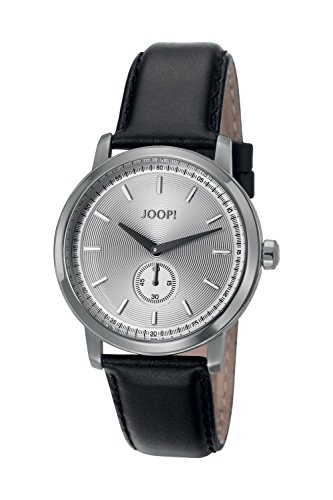 Joop! Herren Analog Quarz Uhr mit Leder Armband JP101601001