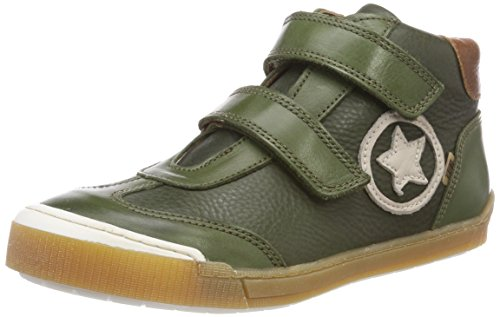 Bisgaard Unisex-Kinder 60330218 Hohe Sneaker, Grün (1008-2 Army), 24 EU (7C UK)
